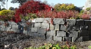 Basalt Trockenmauer 20-25