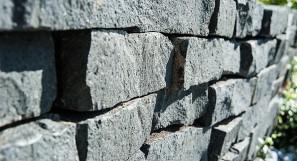 Trockenmauer Basalt