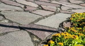 Natursteinplatten Italienischer Kernporphyr